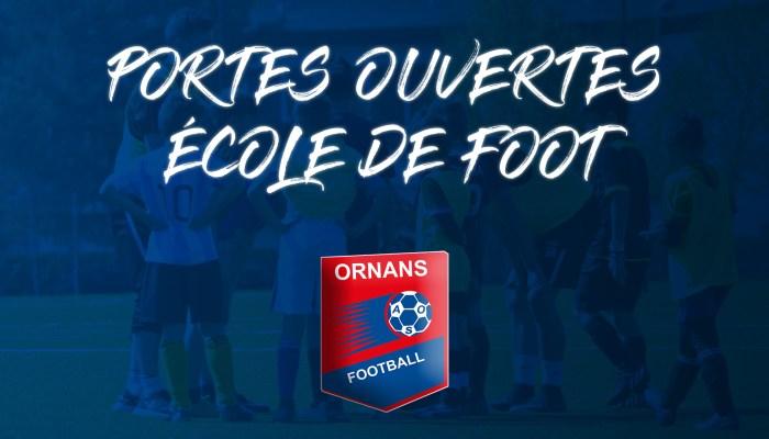 Portes ouvertes ecole de foot AS Ornans