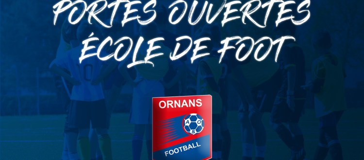 Portes ouvertes ecole de foot AS Ornans