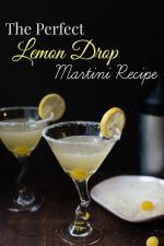 Simple and Delicious Lemon Drop Martini Recipe