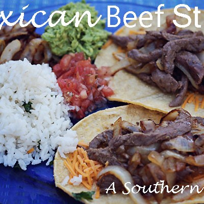 Mexican Beef Strips – A Quick and Cheap Meal