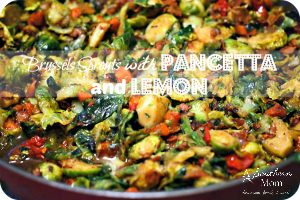 Brussels Sprouts with Pancetta and Lemon Recipe