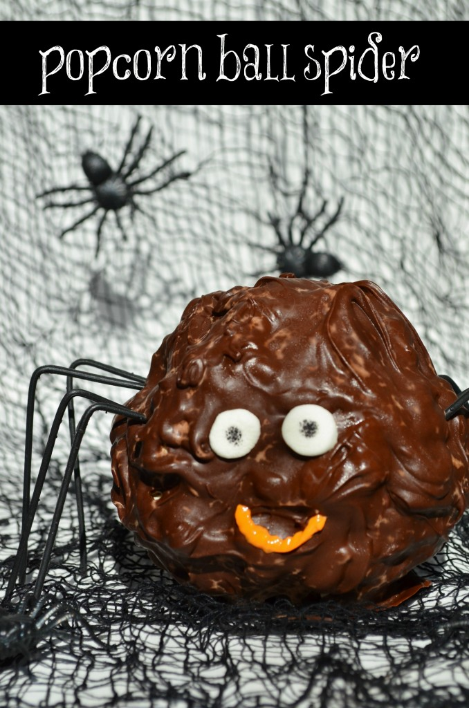 Popcorn-Ball-Spider-Halloween-Treat-678x1024