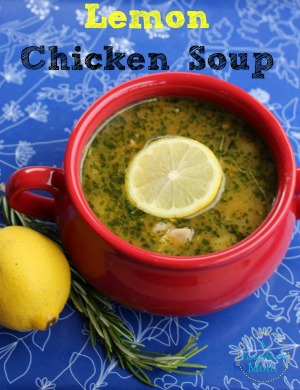 Lemon Chicken Soup sidebar