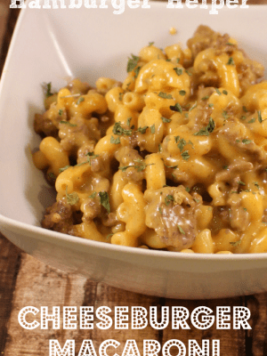 Homemade Hamburger Helper Recipe Cheeseburger Macaroni