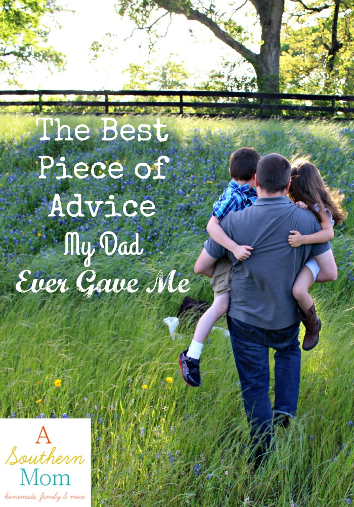 Dad Advice Pin