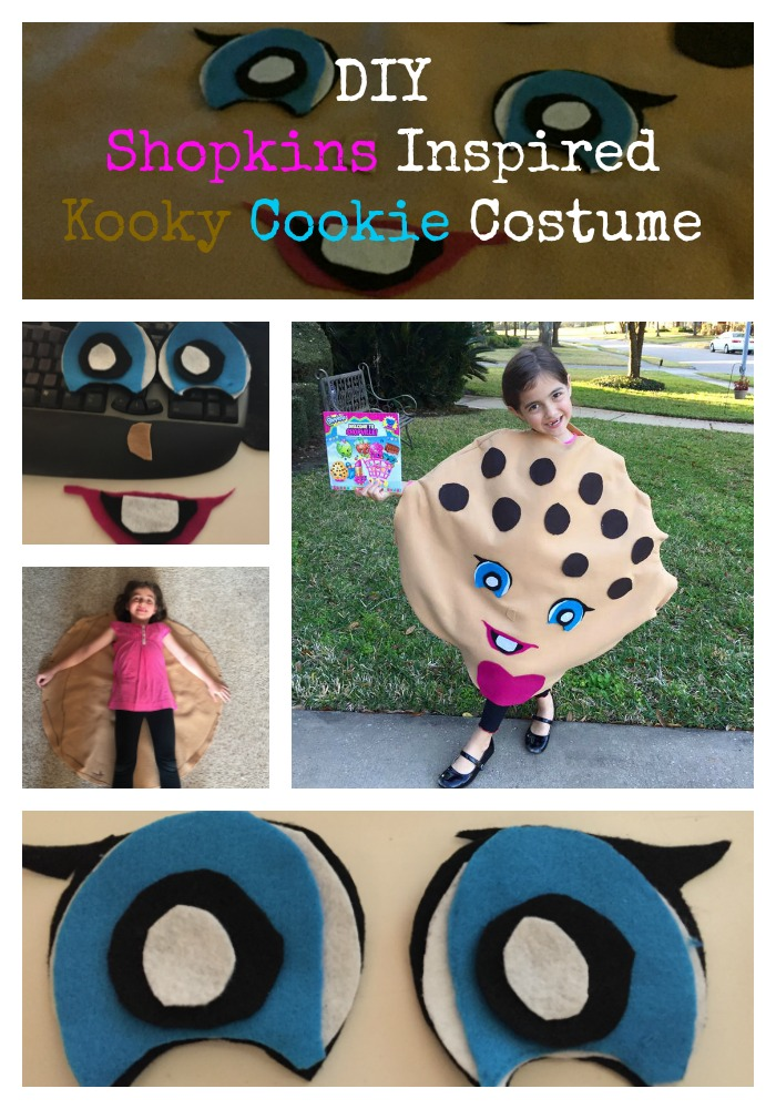 shopkins inspired Kooky Cookie Costume