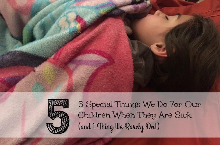 When Our Children Are Sick