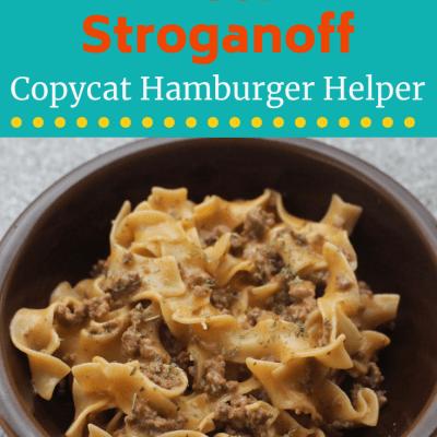 Copycat Hamburger Helper Beef Stroganoff Recipe