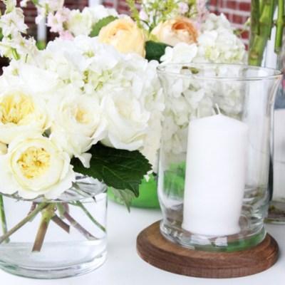 DIY Flower Arrangements: Wedding Wednesday