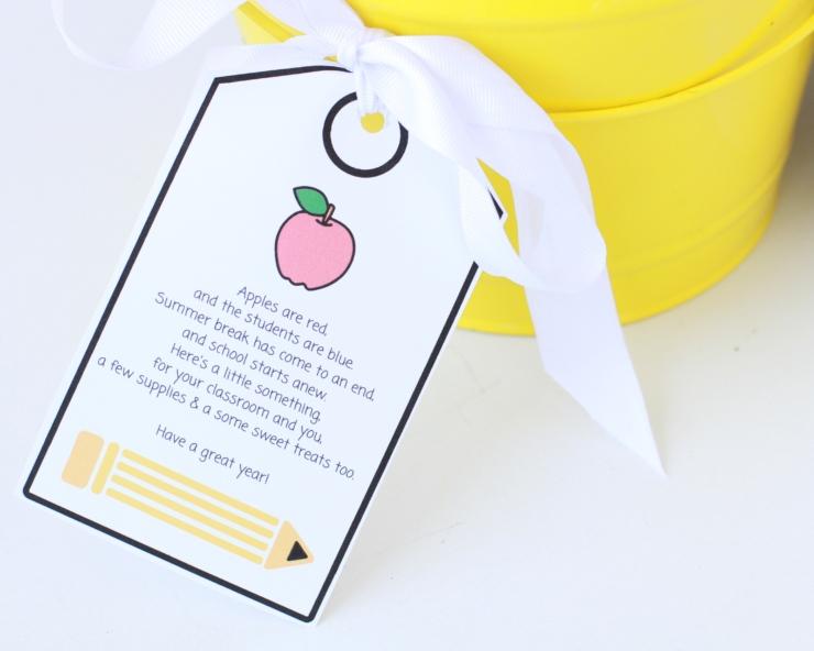 back-to-school gift basket free printable tag