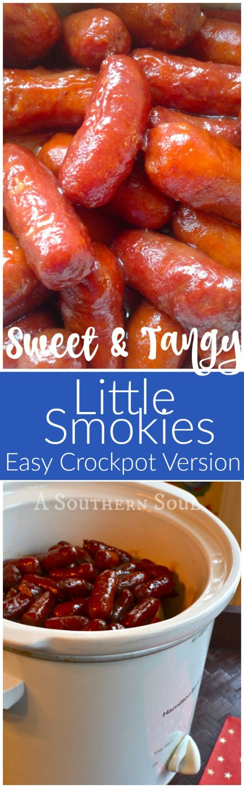 Little smokies made in the crock pot