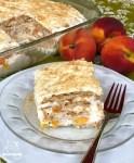 Peaches & Cream Icebox Cake