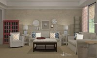Rustic Transitional Living Room Design - A Space to Call Home