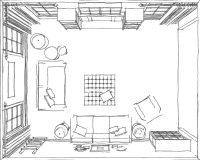 Living Room Furniture Arrangement Simulator