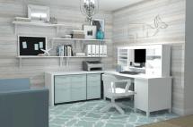 Feminine Home Office & Ikea Ideas - Space Call