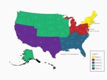 State Representative District Map