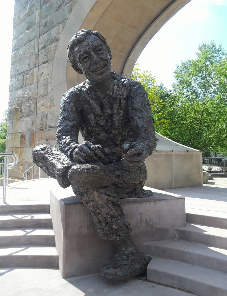Mr Rogers monument