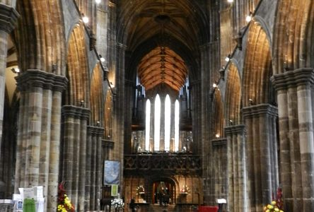 St Mungo's Cathedral in Glasgow: My Dear St. Mungo