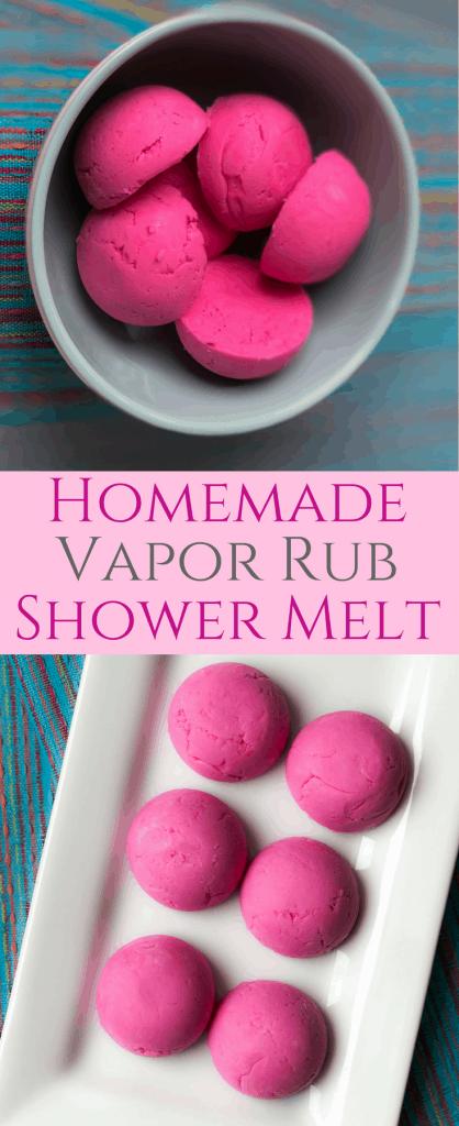 Homemade Vapor Rub Shower Melts Easy DIY Vicks Shower Bombs