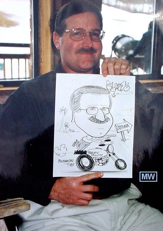 Caricature Artist  Party Rentals Corporate Events