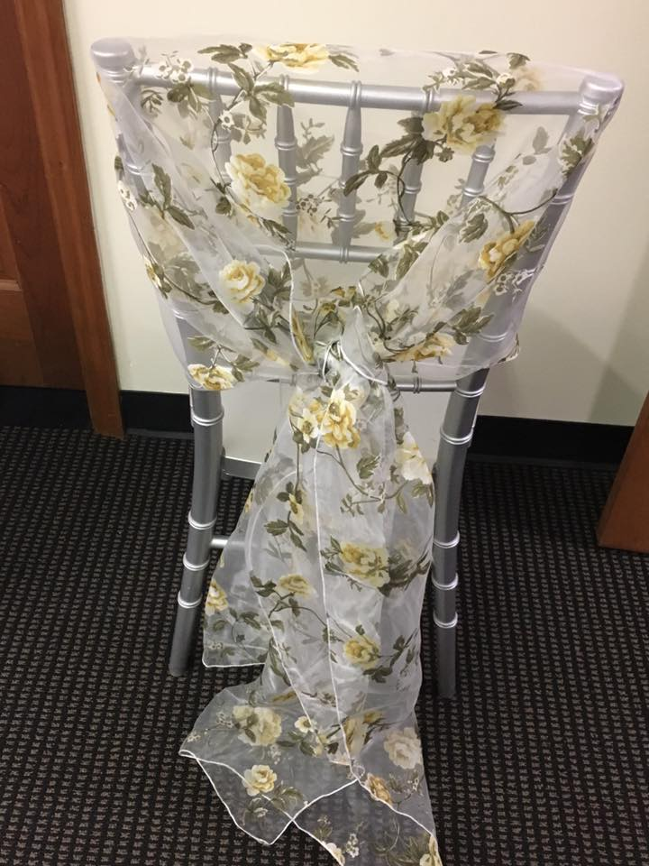 chair cover rentals jackson ms small leather lounge and ottoman rental a s party floral