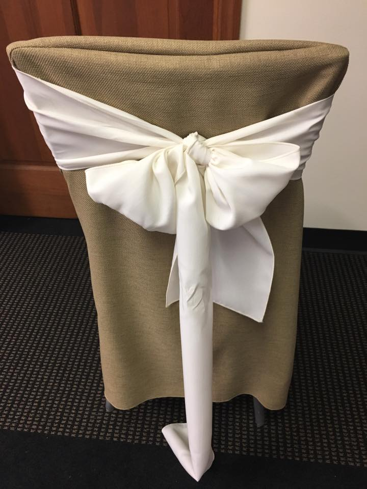 Burlap Chair Cover  Party Rentals Corporate Events