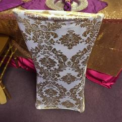 Chair Cover Rentals Jackson Ms Duncan Phyfe Rental A S Party Spandex Gold Design