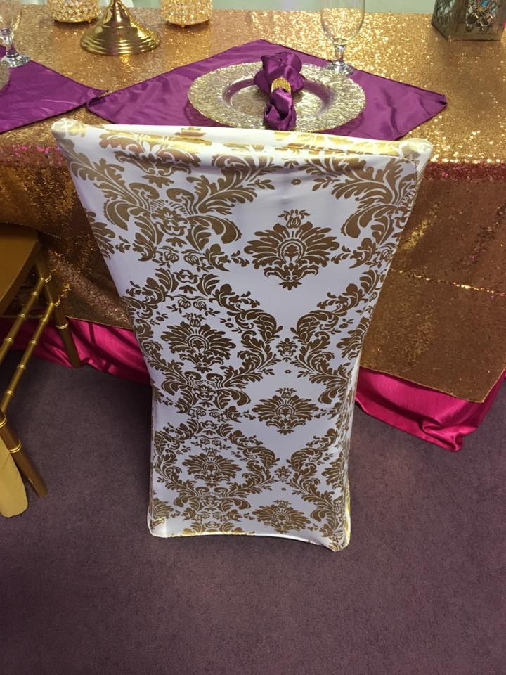 chair covers and tablecloth rentals cheap white banquet for sale spandex gold design cover party corporate events planner tent wedding