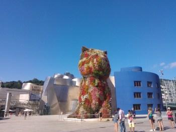 Puppy Guggenheim bilbao - aspassoperlaspagna.it