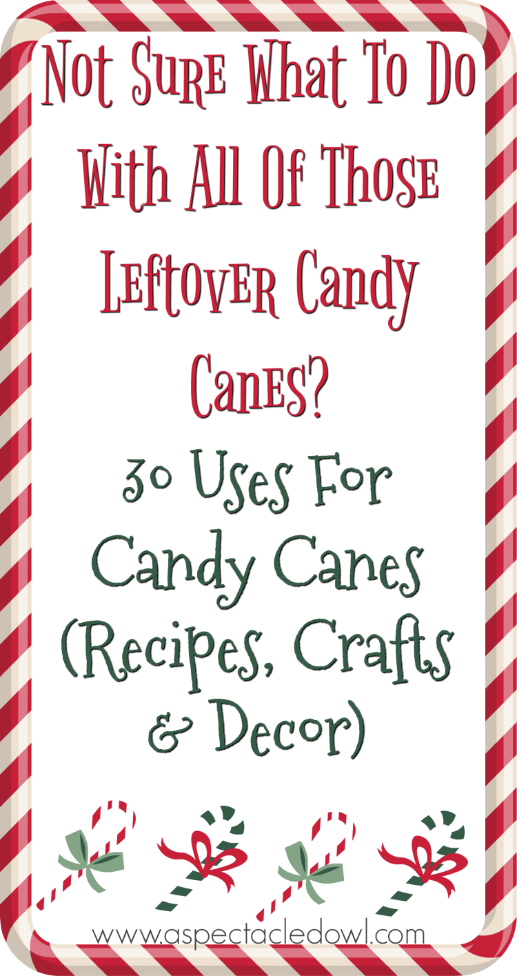 30 Uses For Leftover Candy Canes - Recipes, Crafts & Decor