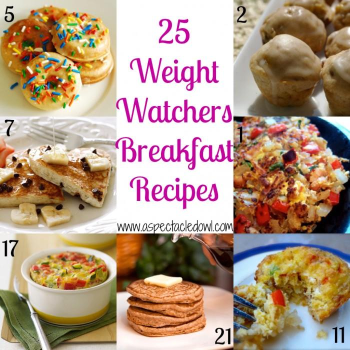 25 Weight Watchers Breakfast Recipes