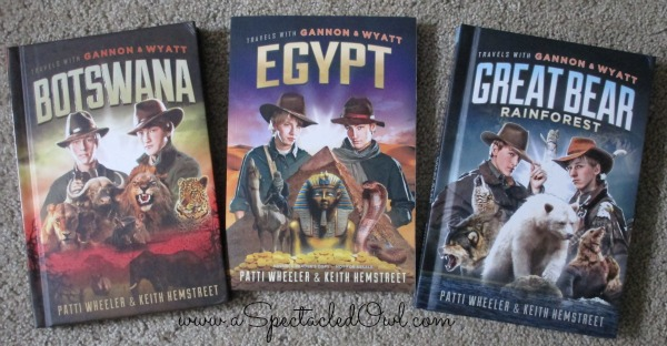 Travels with Gannon and Wyatt Adventure Book Series for Tweens & Teens