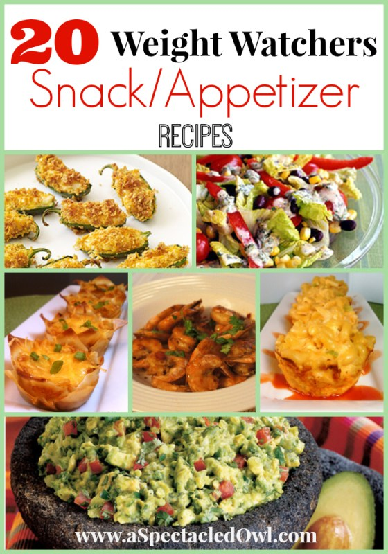 20 Weight Watchers Snacks and Appetizers Recipes