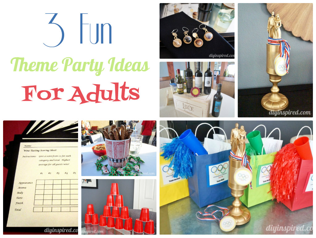 cool party ideas for adults