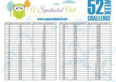 Saving Money in 2016 – 52 Week Savings Challenge with Free Printables