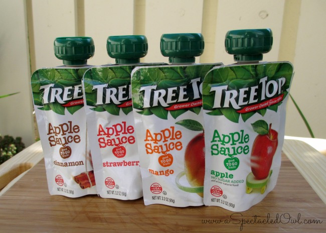 Tree Top Apple Sauce Pouches