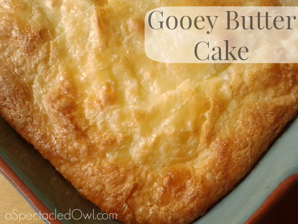 Gooey Butter Cake Sugar Cream