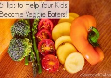 6 Tips to Help Your Kids Become Veggie Eaters!