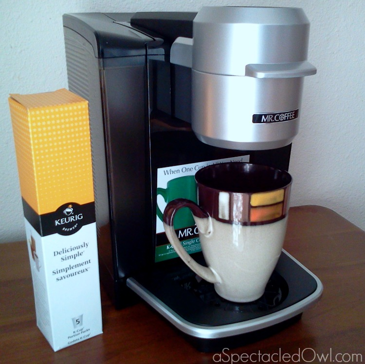 Mr. Coffee® Single Cup K-Cup® Brewing System