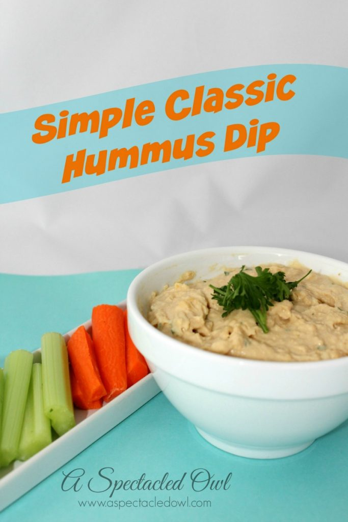 Simple Classic Hummus Recipe