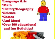 Homeschooling with LEGO - 100+ Resources & Activities