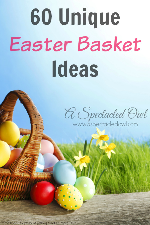 60 Unique Easter Basket Ideas