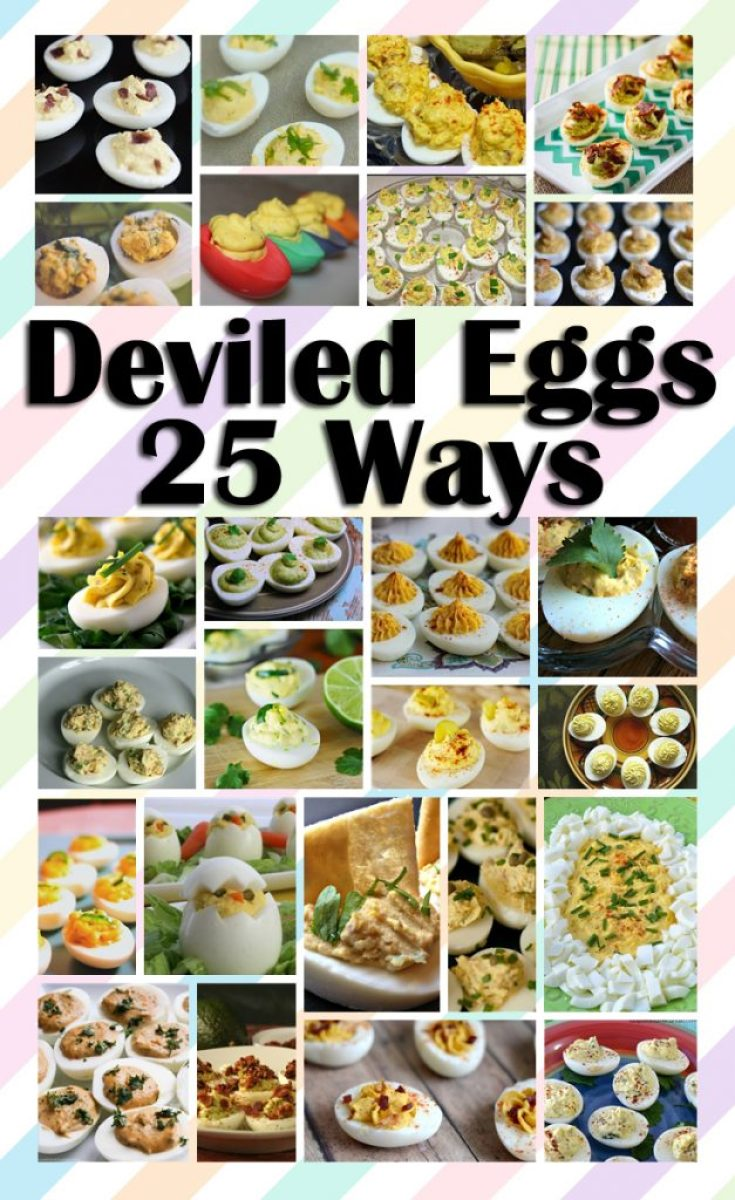 Deviled Eggs 25 Ways