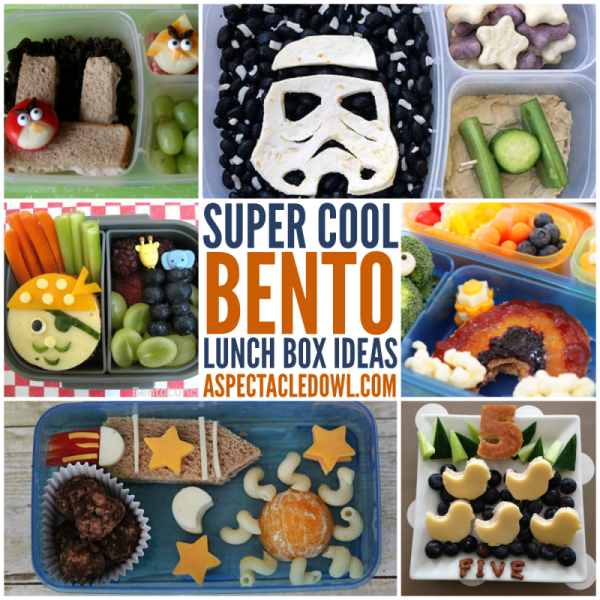 25 Super Cool Bento Lunch Box Ideas