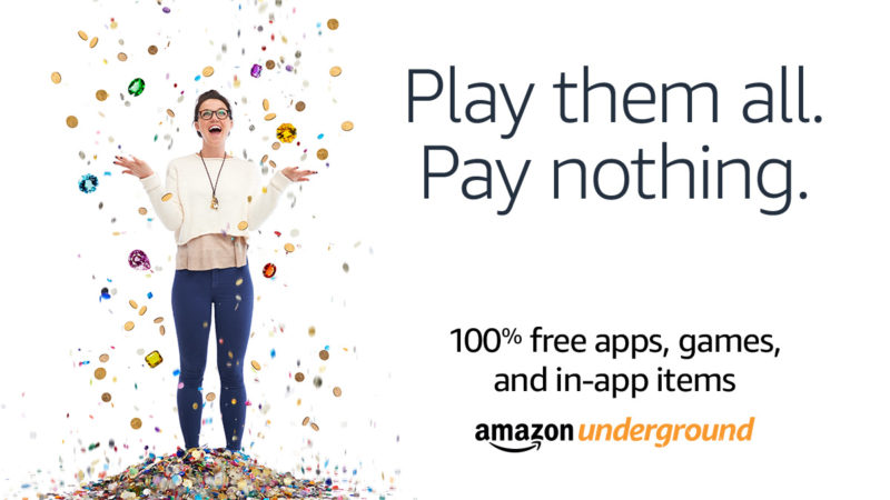 Road Trip Essentials, including Amazon Underground with 100% free apps, games, and even in-app items. Unlimited lives, levels, upgrades – everything!