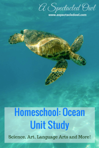 Homeschool: Ocean Unit Study