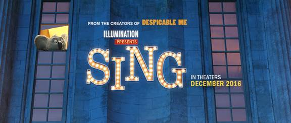 SING Movie in Theaters December 21st