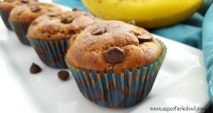 Banana Chocolate Chip Muffins – Paleo Friendly