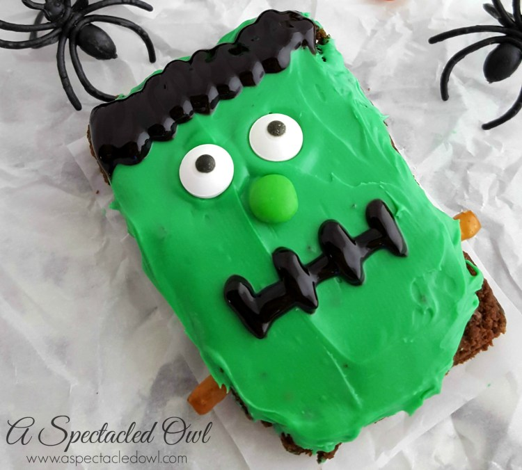Frankenstein Halloween Brownies