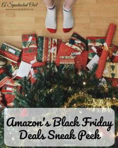 Amazon's Black Friday Deals Sneak Peek is Here